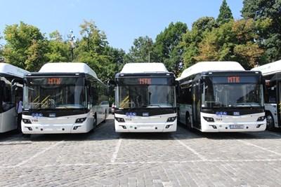 """Автобусите по някои линии в София ще пропускат спирки, ако няма пътници.  СНИМКА: """"24 ЧАСА"""""""