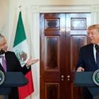 Андрес Мануел и Доналд Тръмп Снимки: Ройтерс