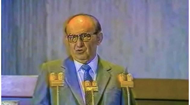 Последната дисидентска реч на Живков преди преврата: Хули Горбачов и Брежнев