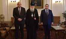 Цацаров и Гешев на среща с патриарх Неофит