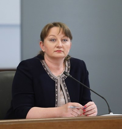 Министърът на труда и социалната политика Деница Сачева СНИМКА: Архив