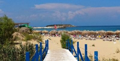 Прекрасният плаж на Аркутино