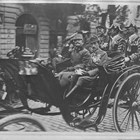 Посрещане на австро-унгарския император Карл І в София