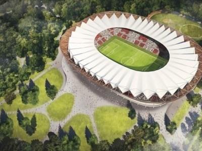 Един от проектите за нов стадион на ЦСКА. Снимка: CSKA.BG