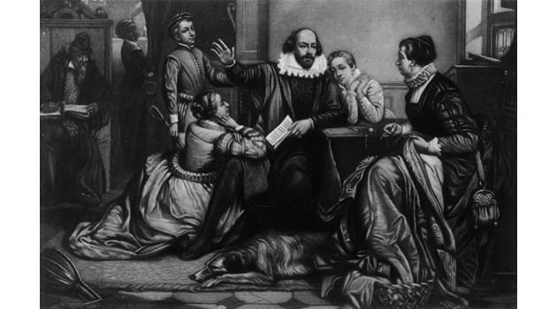 Шекспир - лице назаем