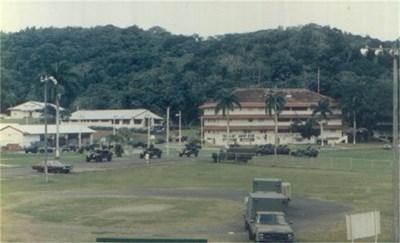 Базата в Панама, където е пратен българинът