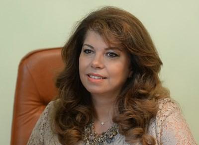 Вицепрезидентът Илияна Йотова СНИМКА: Архив