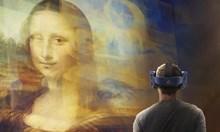 Мона Лиза оживява с добавена реалност по случай 500 години от смъртта на Да Винчи