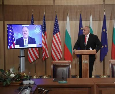 Помпейо: 5G технологиите ще гарантират сигурни мрежи в България и ЕС