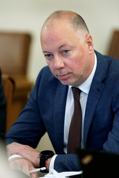 Министър Росен Желязков СНИМКА: Министерски съвет