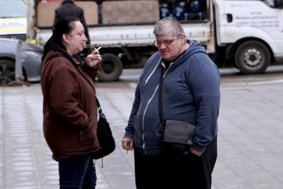 Бащата на Васил идва на заседанията срещу сина си, но отказва коментар за случая. СНИМКА: ДЕСИ КУЛЕЛИЕВА