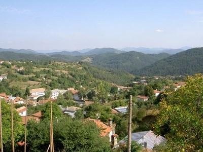 Село Чокманово от птичи поглед
