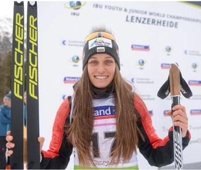 Милена Тодорова продължи страхотния си сезон с 18-о място в преследването от програмата на световното по биатлон.