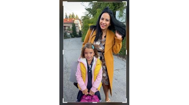 Внучката на Катето Евро тръгна днес на училище
