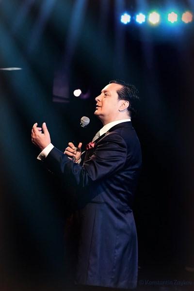 Васил Петров на свой концерт