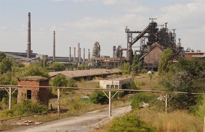 След като комбинатът в Кремиковци затвори, София диша по-чист въздух. СНИМКА: