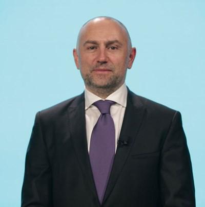 Шефът на парламентарната финансова комисия ЛЮБОМИР КАРИМАНСКИ