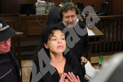 Семейство Баневи в съда СНИМКА: Благой Кирилов