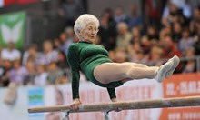91 годишна гимнастичка