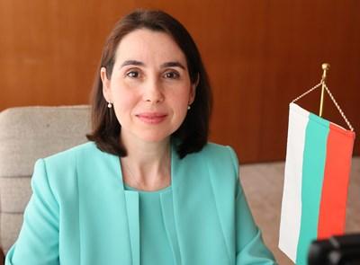 Мариета Арабаджиева - посланик на България в Япония. СНИМКА: КОСТАДИН АНДОНОВ