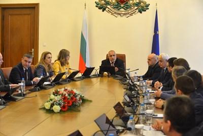 Бойко Борисов обяви, че изпратил допълнителни екипи на границите, на извънреднотото заседание на правителството заради коронавируса. СНИМКА: Йордан Симeонов