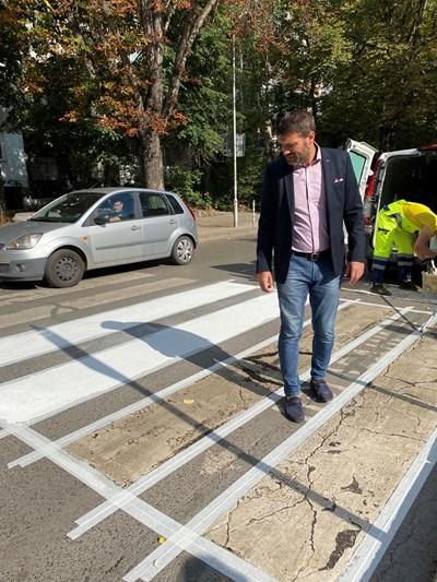 Зам.-кметът по транспорта на столицата Кристиан Кръстев СНИМКА: СТОЛИЧНА ОБЩИНА