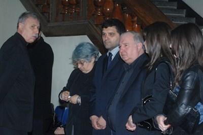 Тодор Славков и Владимир Живков на поклонението на Иван Славков през 2011 г. Снимка: Румяна Тонева