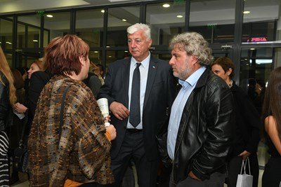 Министърът на културата Боил Банов пристигна в Пловдив по лична покана на кандидата за кмет на ГЕРБ Здравко Димитров.