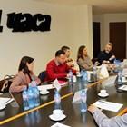 """Участниците в дискусията за каузите на новите 30 години в редакцията на """"24 часа"""" СНИМКИ: РУМЯНА ТОНЕВА"""