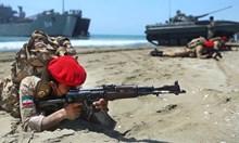 Военно учение в Иран