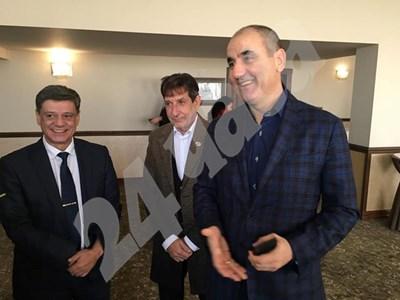 Цветанов с партийния актив на ГЕРБ в Пловдив  СНИМКИ: Радко Паунов СНИМКА: 24 часа