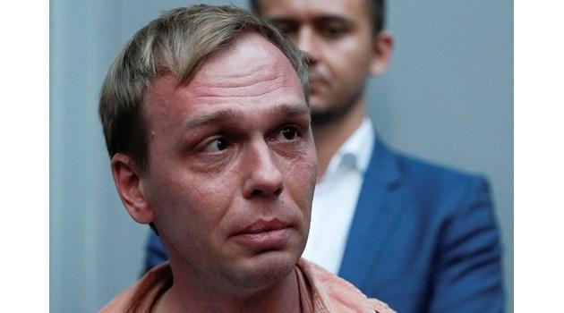 Освободеният журналист Иван Голунов щял да продължи с разследванията си