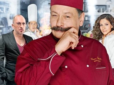 Дмитрий Назаров е водещ на тв предаване за кулинария близо 6 години, преди да изиграе главния готвач в сериала.