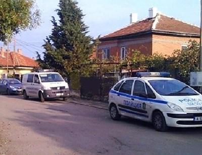 Къщата на убития Кунчев във врачанското с. Добролево. СНИМКА: Архив