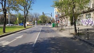 Полиция блокира централен булевард в София