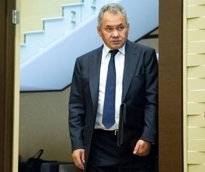 Министърът на отбраната на Русия Сергей Шойгу