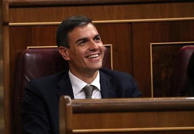 Испанският премиер Педро Санчес СНИМКА: Ройтерс
