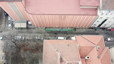 Вижте поклонението пред Стоянка Мутафова, снимано от дрон