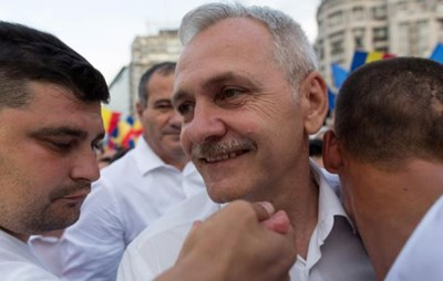 Лидерът на управляващата в Румъния Социалдемократическа партия (СДП) Ливиу Драгня СНИМКА: Ройтерс