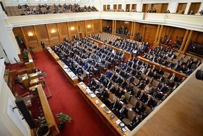 Депутатите създават временни комисии в Народното събрание