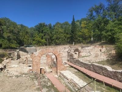 """Римските терми в парк """"Момина сълза"""""""