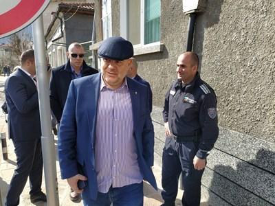 Главният прокурор Иван Гешев в Кричим.