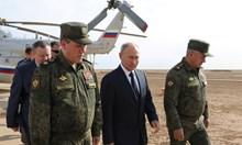 В бункер ли е Путин?
