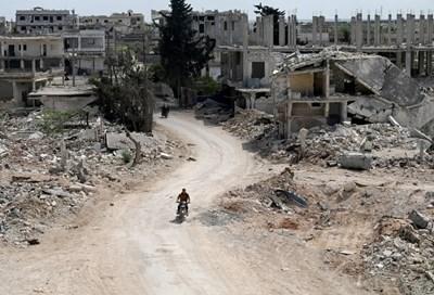 Кадър от Сирия СНИМКА: Ройтерс