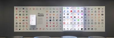 Първите емоджита са изложени в музея за модерно изкуство.