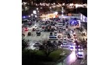 Полицаи блокираха сборище на дрифтъри в Пловдив (снимки)