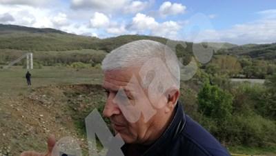 Мустафа Исмаил е станал свидетел на катастрофата Снимка: Ненко Станев СНИМКА: 24 часа