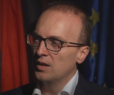Депутатът от ВМРО-ДПМНЕ Антонио Милошоски КАДЪР: Youtube/Insajder Video