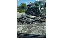 Почина шофьорът на бургаската кола от мелето на пътя Варна - Бургас