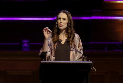 Министър-председателката на Нова Зеландия Джасинда Ардърн СНИМКА: Ройтерс